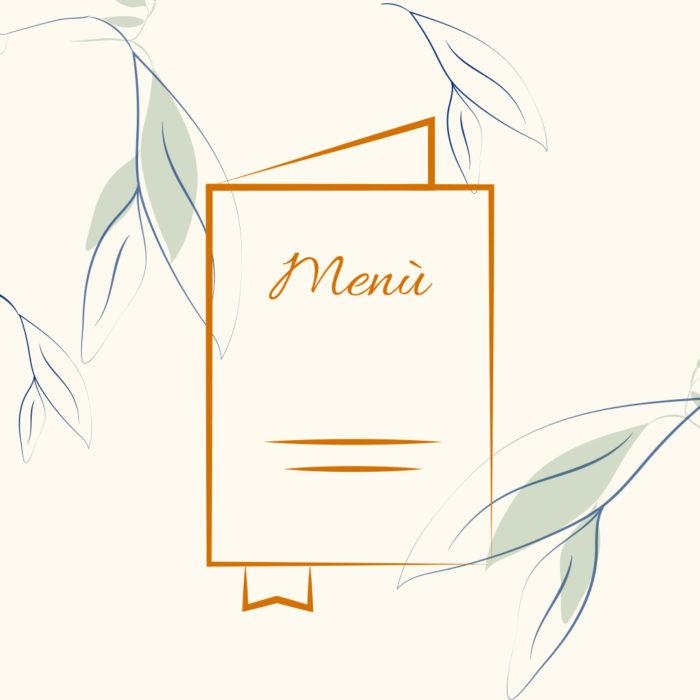 Menù Settimio all'Arancio